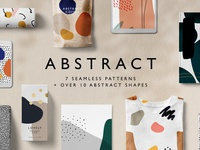 Abstract Pattern + Shapes Kit