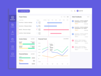 Freelance Designer Dashboard (3-day Challenge)