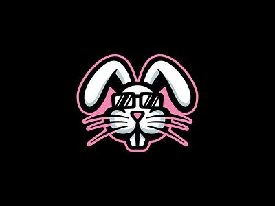 Funky Rabbit mascot mascot logo illustration branding vector mascotlogo design illustrator esports logo