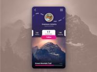Hiking User Profile