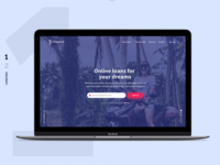 Loan/Credit Landing Page
