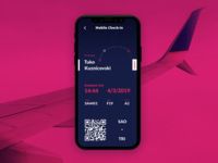 Boarding Pass(Mobile)