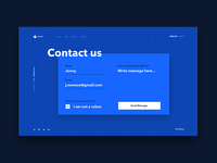 Contact Us Daily UI #28