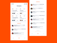 Notifications Daily UI