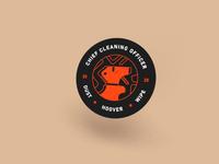Cleaning Illustration Badge minimal badge 2020 cleaning illustration graphic design design