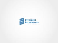 Divergent Accountants - logo design