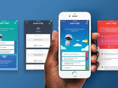 DDI's Leaderchip Mobile App