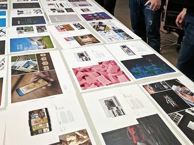 Spreads on Spreads web ux ui portfolio print mobile logo layouts design brochure branding book