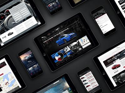 Automotive Past Work ux ui app technology digital mobile design logo identity brand automotive