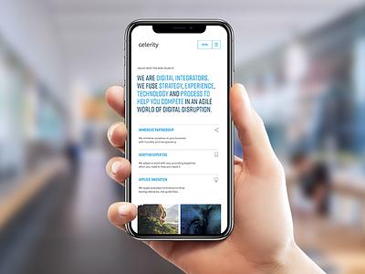 Our New Dot Com agile process mobile integration digital ux ui web branding design