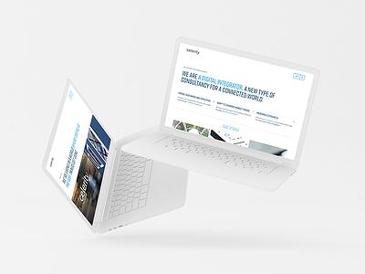 New Dot Com (V2) tablet mobile portfolio digital branding ui ux responsive web design