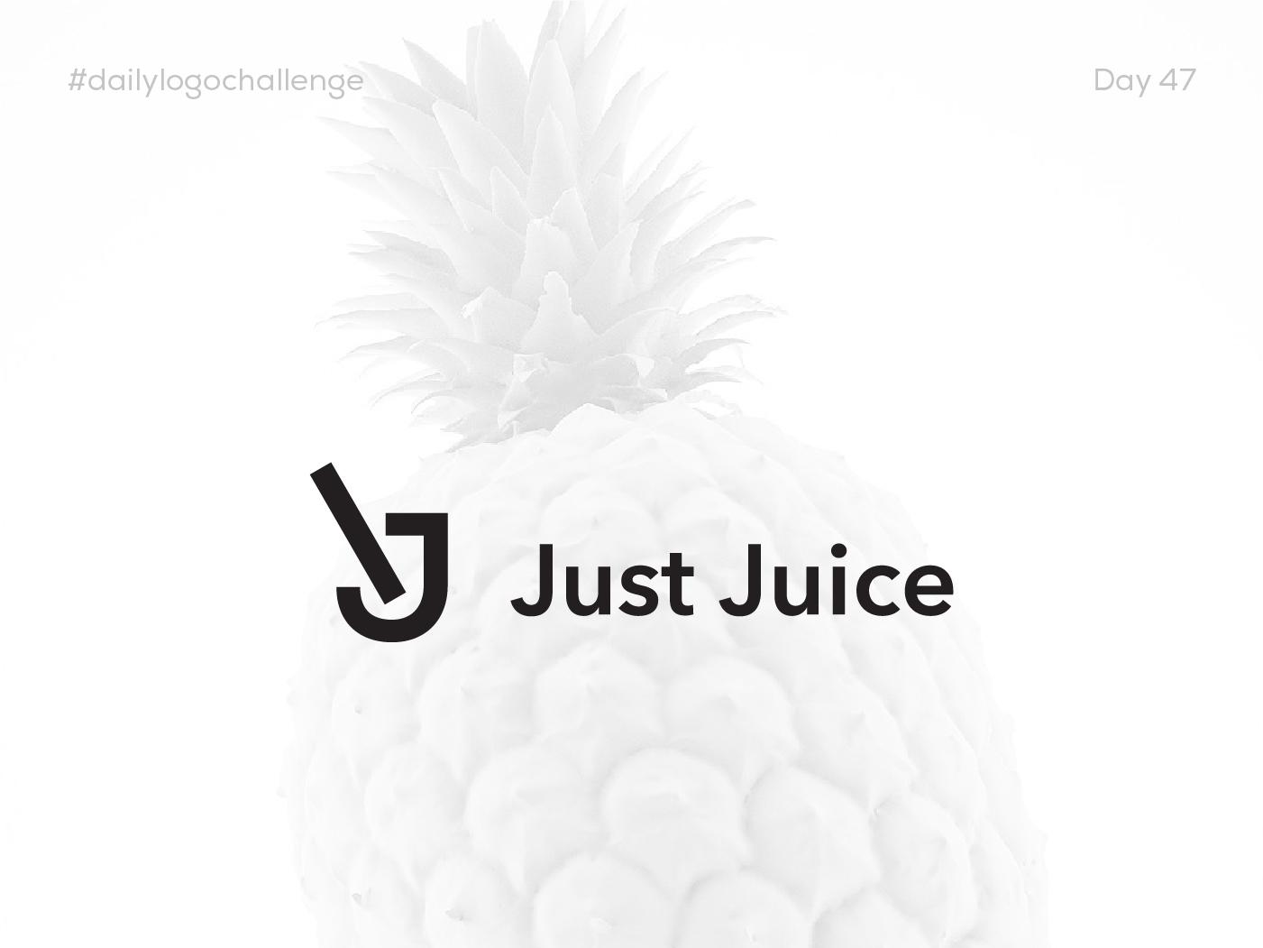 Dailychallenge Insta Shots Pt5 07 juice minimalist dailylogochallenge branding logo vector typography design mirasadesign mirasa