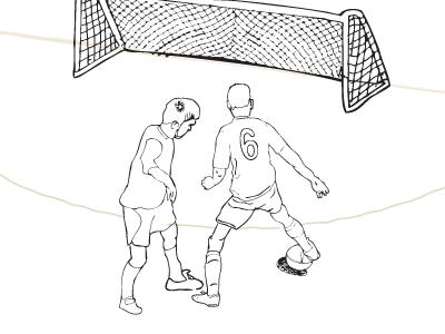 Footie Illustration