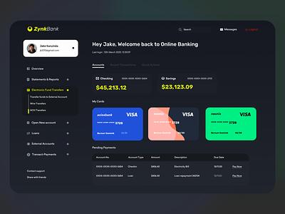 Banking - Cards - Payments - Dashboard - Dark typography mobile agency product design design app banking ui cards banking dashboard payment banking app dark theme dark mode dark