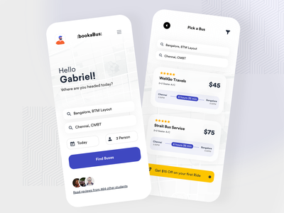 Bus Ticket booking Application public transport metro public transit business payment listing blue dashboard mobile booking ecommerce product design design