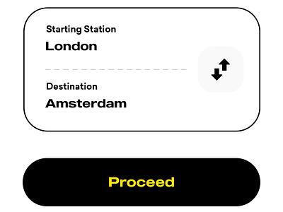 Ticketing App UI for Train Booking App trending mobile ui product design app ios design travel vacation ticket app train app booking trains online ticketing ecommerce login public transit tivket railway ticket booking
