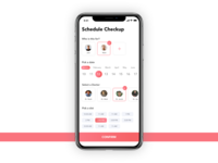 Medical Appointment Booking UI