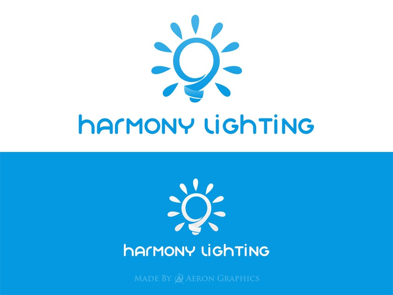 Lighting Company Logo lighthouse lights lightning light logo brand logo brand logo design brand identity vector template design graphic design branding logos website logodesign logo logo design design