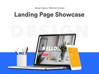 """designbrewery"" Design  Agency Landing Page Concept"