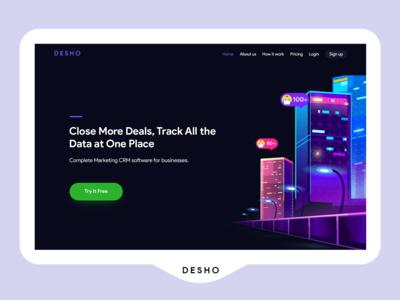 DESHO First Fold Shot