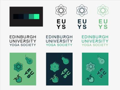Edinburgh University Yoga Society Branding