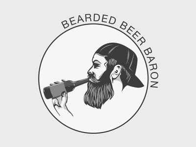 Bearded Beer Baron Branding