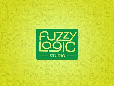 Fuzzy Logic Studio Naming and Identity fuzzy logic equations studio logo logo design app company apps app design typography type hand drawn
