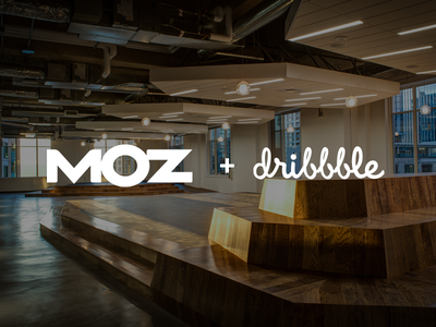 Moz + Dribbble swag drinks pizza party moz seattle meetup