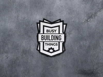 Building Things Sticker