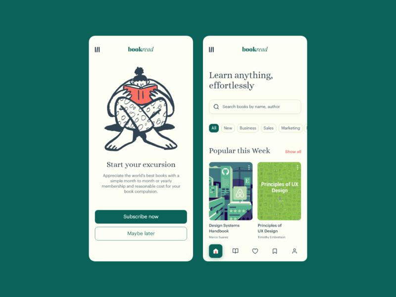bookread-app-screen