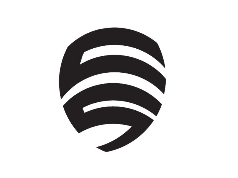 US logo Gym Fitness monogram logo fitness logo us logo logotype logo