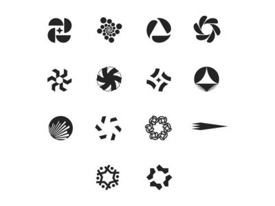 Bank and Finance Logo Collection geometric design clean design logo collection logo finance bank banks