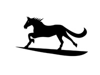 Horse for Financial Logo