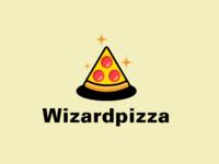 Wizardpizza logo concept