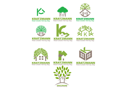 Kratzmann Real Estate logofolio logotype logo rental real estate