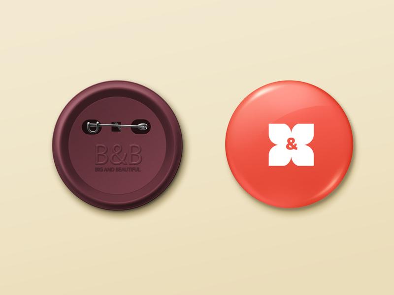 B & B  Clothing letter monogram icon logoicon logotype geomatric logo neat letter monogram