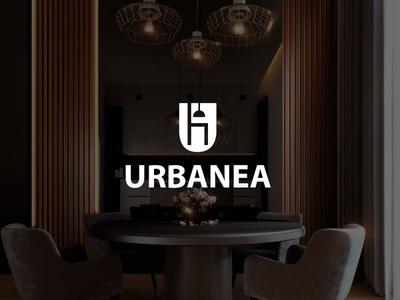 Urbanea Home Furnishing Logo Concept logo concept ineterior logo home furninshing