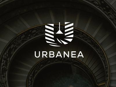 Urbanea  logoconcept  2 interior logoicon logotype logo
