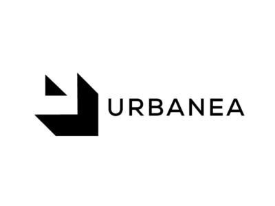 Urbanea Logo Concept 4 geomatric idea logo concept interior letter u logo
