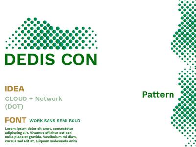 Dedis Icon it logo concept idea logo netwoking cloud