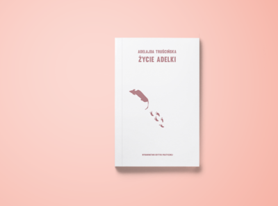 Życie Adelki // Book cover illustration design book cover