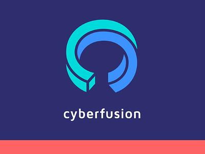 Logo Cyberfusion proposal logo