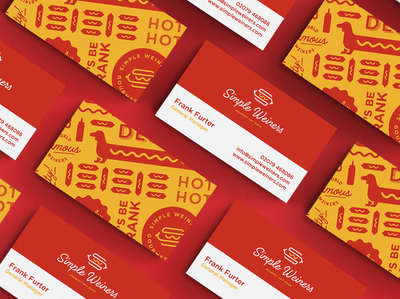 Simple Weine Business Cards