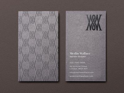 Merlin Wallace Business Card
