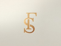 Femme Sucree FS Monogram typogaphy luxurious luxury brand uk designer fashion branding elegant gold foil luxury logo fs luxury business card design monogram designer for hire brand identity design graphic design logo design logo branding brand identity
