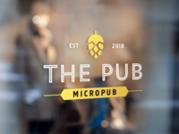 The Pub Logo and Brand Identity
