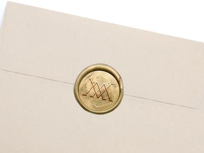 Mountain View Townhouse Monogram Wax Stamp