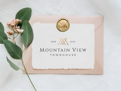 Mountain View Townhouse Hotel Branding