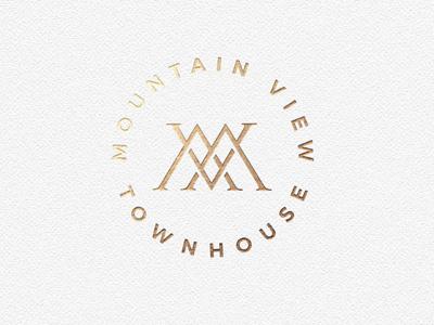 Mountain View Townhouse Logo Mark