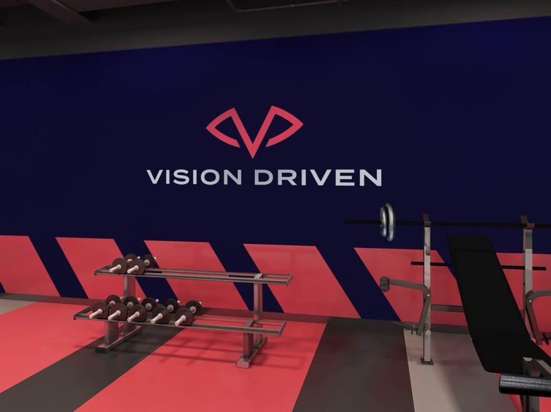 Vision Driven Gym Signage